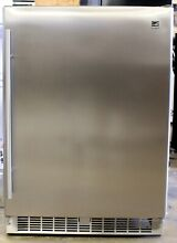 Danby SilhouetteProfessional 5 5 cu ft  Stainless Steel Compact Fridge REFURB