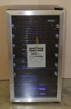 Danby 36 Bottle 17  Freestanding LED Wine Cooler Cellar Stainless DWC93BLSDB
