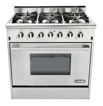 NEW NXR DRGB3602 36  Professional Style Stainless Steel Gas Range Stove 6 Burner