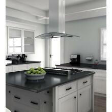ZLINE 36  ISLAND KITCHEN RANGE HOOD GLASS and BAFFLE FILTERs LED GL14i 36