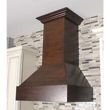 ZLINE 36  DESIGNER SOLID WOOD WALL RANGE HOOD CROWN MOLDING 355WH 36