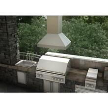 ZLINE 30  OUTDOOR KITCHEN ISLAND RANGE HOOD 304 Stainless STEEL LED 597i 304 30