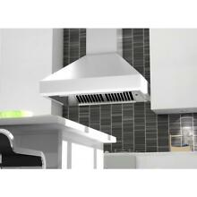 ZLINE 36  PRO STAINLESS STEEL KITCHEN WALL RANGE HOOD 24  DEPTH 1200 CFM 477 36