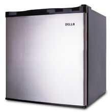 Portable Upright Freezer 1 1 cu  Ft  Cubic Compact Home Kitchen  Stainless Steel