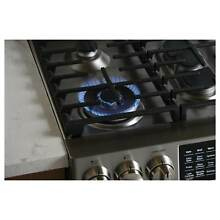GE Profile Series 30  Slide In Front Control Gas Range