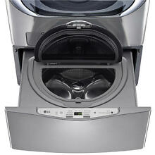 NEW  LG WD100CV SideKick 1 0 CU FT Pedestal Washer Graphite Steel FREE SHIP