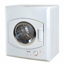 Panda 3 75 Cubic Feet Compact Apartment Laundry Front Load Electric Dryer  White