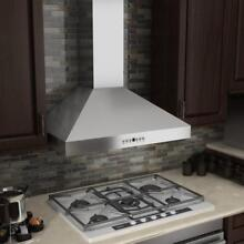 ZLINE 36  WALL RANGE HOOD STAINLESS STEEL LED  w BAFFLE FILTERS KL3 36