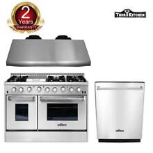 Thor Kitchen 48  Gas Range 48  Under Cabinet Range Hood Dishwasher Cooktop Hot