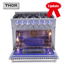 36 inch Thor Kitchen HRG3618U Professional Gas Range Stove Oven 6 Burners Cooker