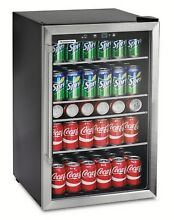 Tramontina 4 4 cu ft Compact Refrigerator 126 Can Mini Fridge Dorm Office