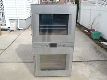 30  Gaggenau 220 Volt Electric Double Wall Oven BX480611 With 4 5 cu  ft  Ovens