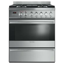 Fisher   Paykel 30  Dual Fuel Range