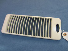 General Electric OEM WB07X10347 Cooktop Downdraft Fan Vent  Bisque