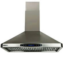 XtremeAir PX02 W30 30 inch 900 CFM Stainless Steel Wall Mount Range Hood