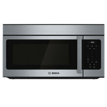 Bosch 300 1 6 cu ft Over the Range Microwave  Stainless Steel NEW