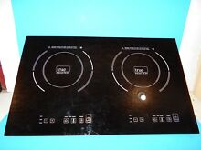 COOKTOP TRUE INDUCTION DOUBLE BURNER COOKTOP COUNTER INSET MODEL S2F3  T1 2B  1
