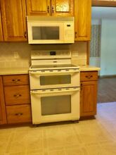 Maytag Gemini Electric Double Oven and over the range microwave