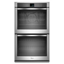 Whirlpool Self Cleaning Convection Double Electric Wall Oven   WOD93EC0AS