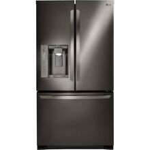 LG 24 1 cu ft French Door Refrigerator with Dual Ice Maker   LFX25973D