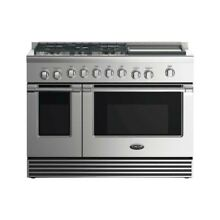 48  GAS RANGE5 BURNERS WITH GRIDDLE