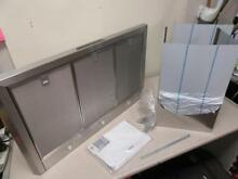 Thermador HMCB36FS 36  Range Vent Hood Stainless NEW  SLIGHT DAMAGE  WORKS