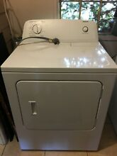 6 5 cu  ft  240 Volt White Electric Vented Dryer with Automatic Dry Cycles