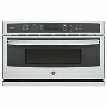 GE Profile Series Stainless Steel Built in Microwave Oven