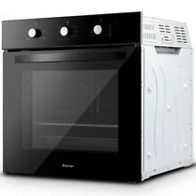 24  Multifunction Electric Built in Single Wall Oven Buttons Control 2850W 220V
