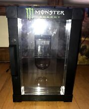 MONSTER ENERGY THERMO ELECTRIC DORM COOLER MINI FRIDGE  HOLDS UP TO 18 CANS