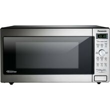 PANASONIC SMALL APPLIANCES NN SD745S 1 6 CUFT MICROWAVE OVEN