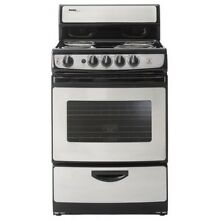 Danby 24 In Electric Range  Stainless Steel
