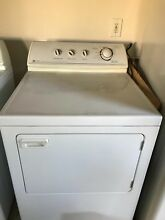 Dryer Set  Maytag   Gas  White  excellent condition