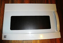 New in Box Sears Kenmore Samsung DE94 01646B Microwave Door Assembly w Handle