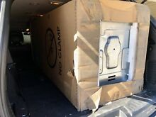 NEW GE washer and dryer stacked unit