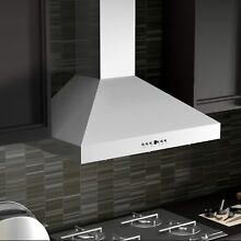 ZLINE 42 inch 760 CFM Wall Mount Range Hood in Stainless Silver