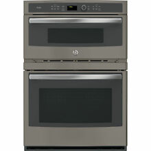 GE Profile Series 30 inch Built in Combo Convection Microwave  Wall Oven