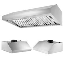 900CFM 30  Under Cabinet Stainless Steel Kitchen Range Hood 3 Speeds LED Lamp