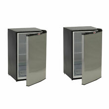 Bull Outdoor Products Stainless Steel Outdoor Kitchen Refrigerator  2 Pack