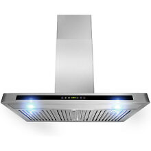 AKDY 30 inch OSWRH503A 30 AG Wall Mount Stainless Steel Range Hood