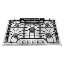 FGGC3047QS Stainless Steel 30 inch Gas Cooktop