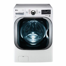 LG WM8100HWA 5 2 cu  ft  Mega Capacity TurboWash  Washer with Steam Technology