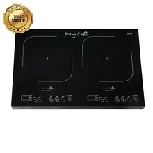 Megachef MC1800 Portable Dual Induction Cooktop