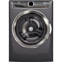 4 4 cu ft Front Load Washer SmartBoost Technology Steam in Titanium   EFLS617STT