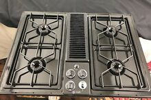 Clean  GE Profile 30  Downdraft Has Cooktop Black JGP389BEV3BB Denver  CO P U