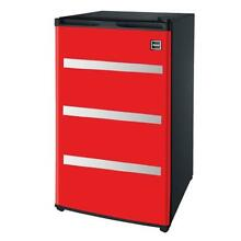 RFR329 Red Garage Fridge Tool Box  3 2 Cubic Feet  Red