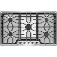 Frigidaire FGGC3645QS   Gallery 36 inch Gas Cooktop in Stainless Steel