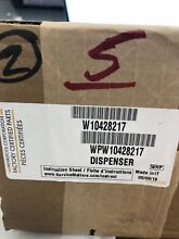 Amana Dishwasher Soap Cup WPW10428217 Brand New OEM Part