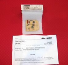 MAYTAG DRYER CIRCUIT BOARD NEW IN THE BOX WITH INSTRUCTION SHEET PART 305392
