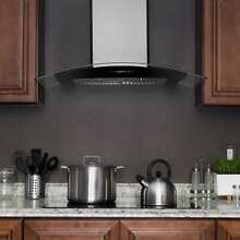 AKDY RH0291 36  Stainless Steel Wall Mount Range Hood with Gas Sensor Remote